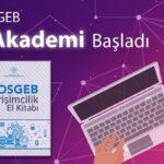 KOSGEB Girişimcilik Sertifikası Online Eğitim İmkânı