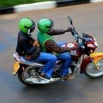 motor taksiler trafikten kurtarıyor
